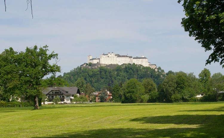 Mozart Radweg Salzburg