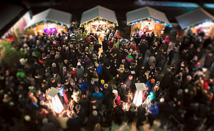 Adventmarkt Marktschellenberg © WARP3