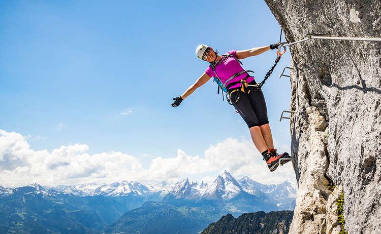 Berchtesgadener Hochthronsteig Klettersteig Untersberg