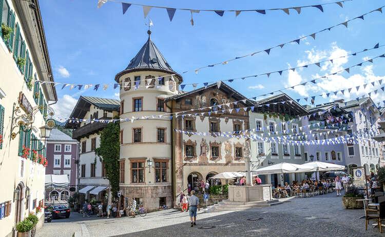 Berchtesgaden Fußgängerzone