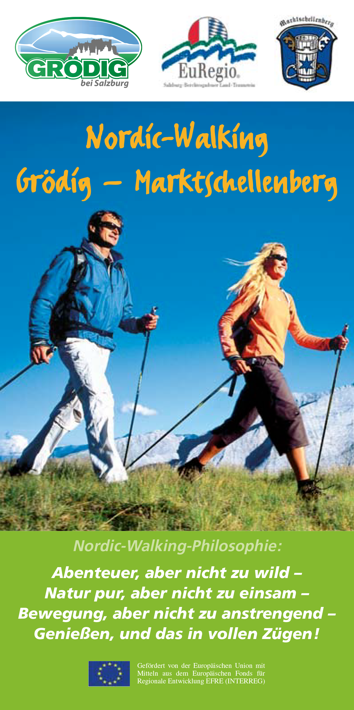 Flyer Nordic Walking